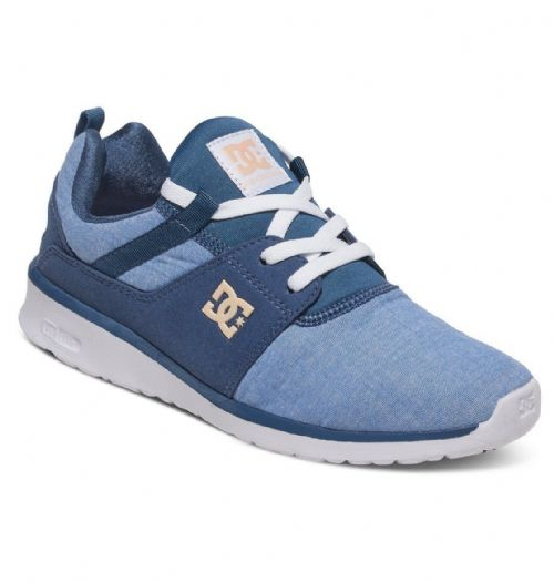 DC SHOES WOMENS TRAINERS.NEW HEATHROW SE BLUE SPORT ATHLETIC GYM SHOES 7S/22/NWH